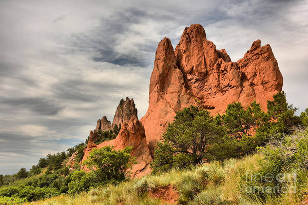 Photograph - Garden Of The Gods by Charles Owens
