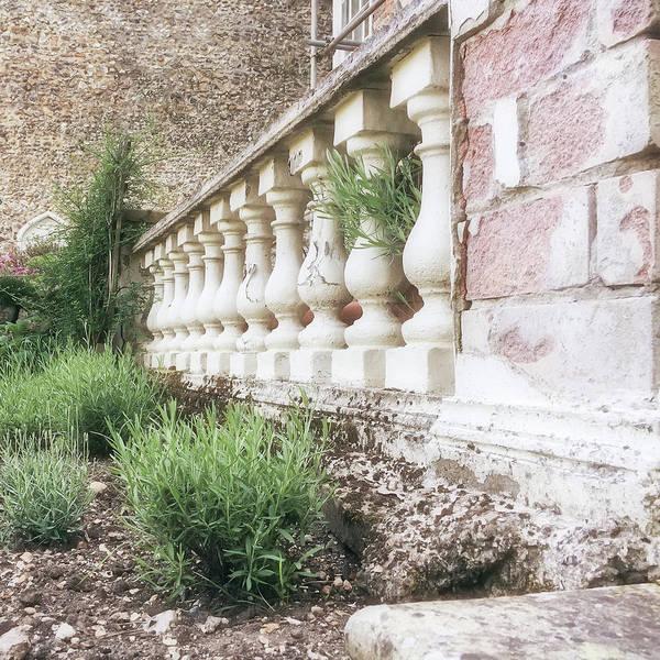 Baluster Wall Art - Photograph - Garden Wall by Tom Gowanlock