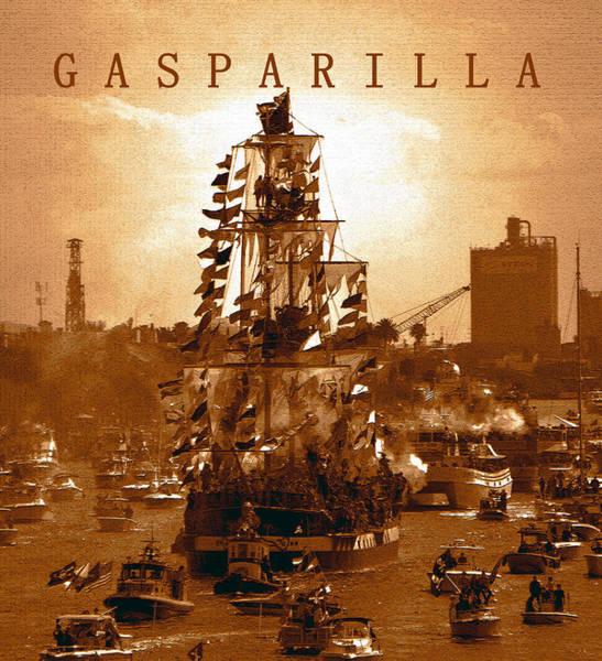 Tampa Digital Art - Gasparilla Invasion  by David Lee Thompson