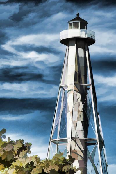 Boca Grande Photograph - Gasparilla Island Light - Boca Grande Florida by Jon Berghoff