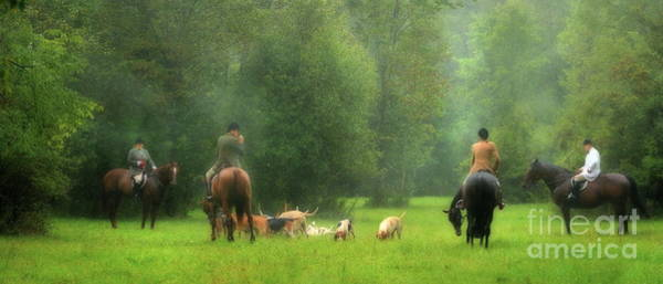 Photograph - Gathering Of The Hunt by Angela Rath