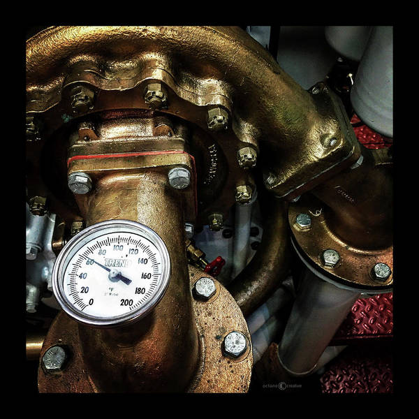 Photograph - Gauge by Tim Nyberg