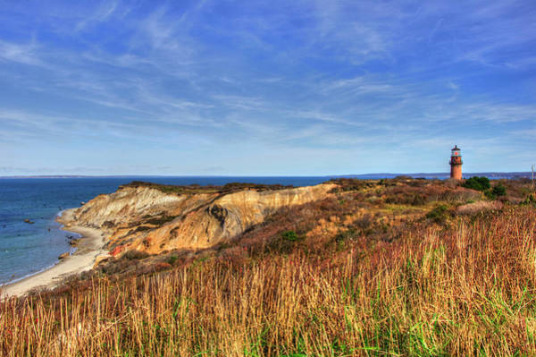 Photograph - Gay Head Lighthouse - Martha's Vineyard, Ma by Joann Vitali