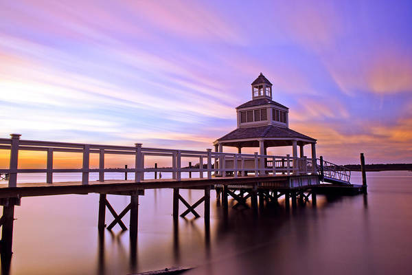 Photograph - Gazebo Sunset by Joye Ardyn Durham