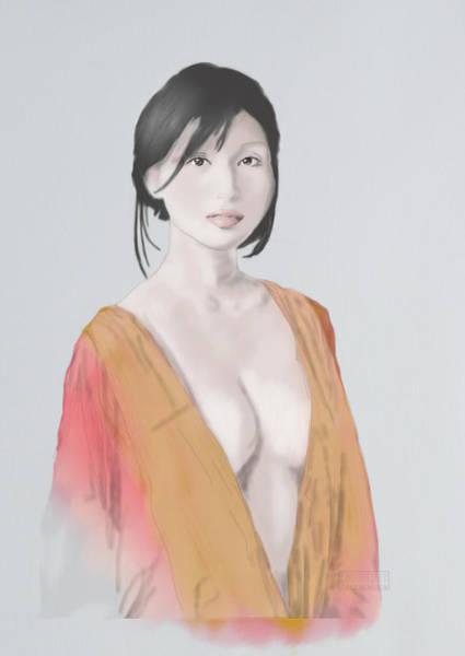 Geisha Mixed Media - Geisha by TortureLord Art