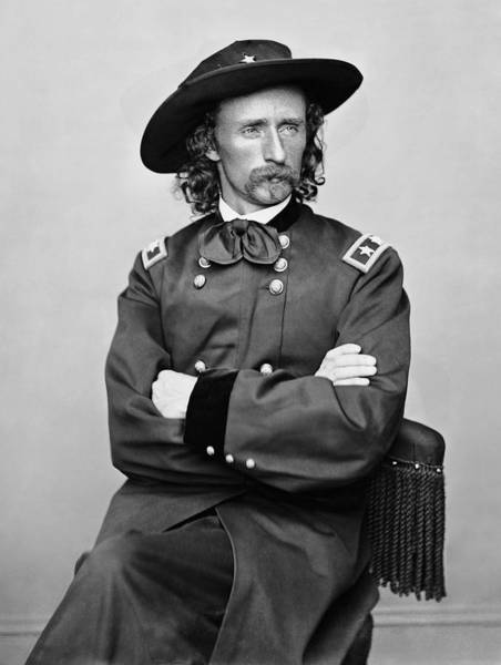 Wall Art - Photograph - General George Armstrong Custer  by Daniel Hagerman