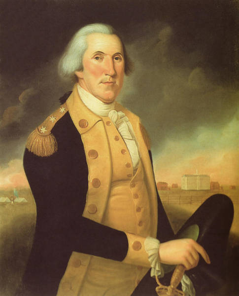 Wall Art - Painting - General George Washington by War Is Hell Store