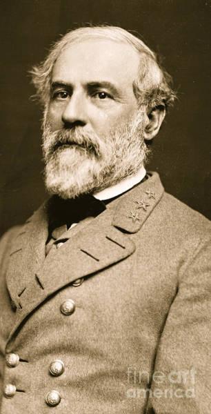 Commander Photograph - General Robert E Lee  by American School