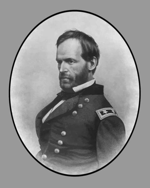 William Tecumseh Sherman Painting - General Sherman by War Is Hell Store