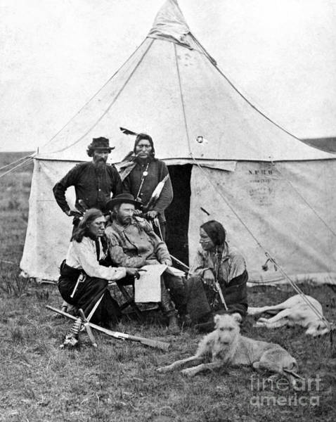 Photograph - George Armstrong Custer by Granger