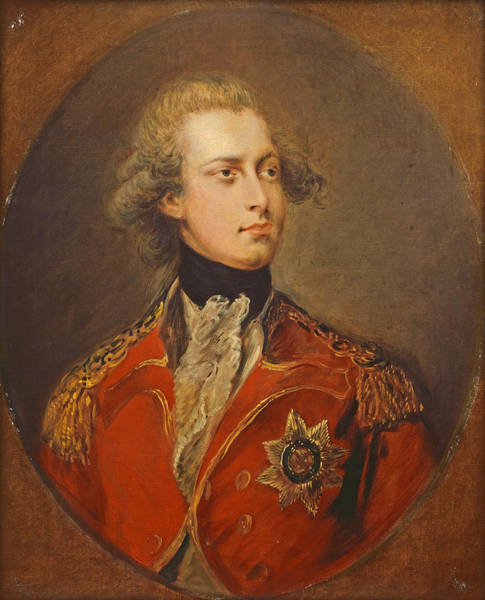 Dupont Wall Art - Painting - George Iv As Prince Of Wales by Gainsborough Dupont