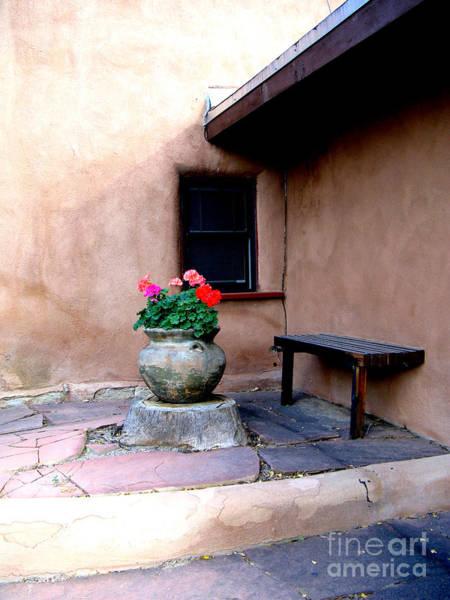 Wall Art - Photograph - Taos Geranium And Casita by Nieves Nitta