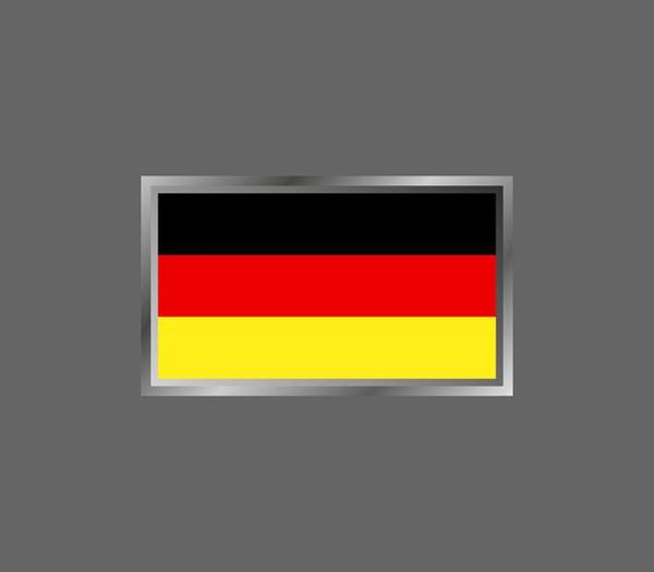 Illustration Digital Art - Germany Flag by Marco Livolsi