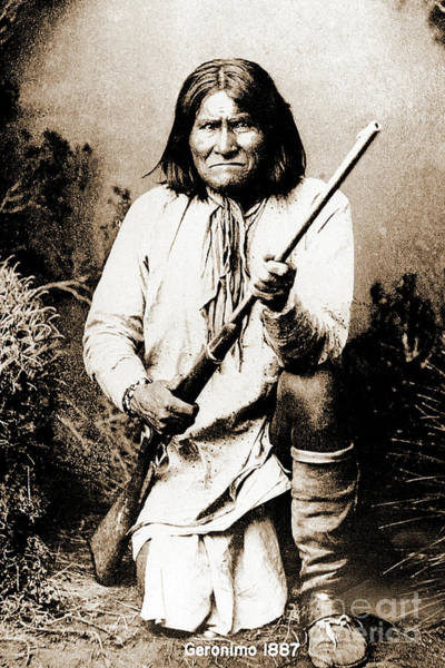 Photograph - Geronimo by Gary Wonning