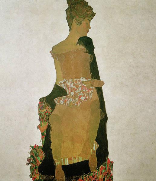 Painting - Gerti Schiele by Egon Schiele