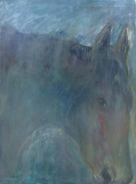 Painting - Ghost Horse by Katt Yanda
