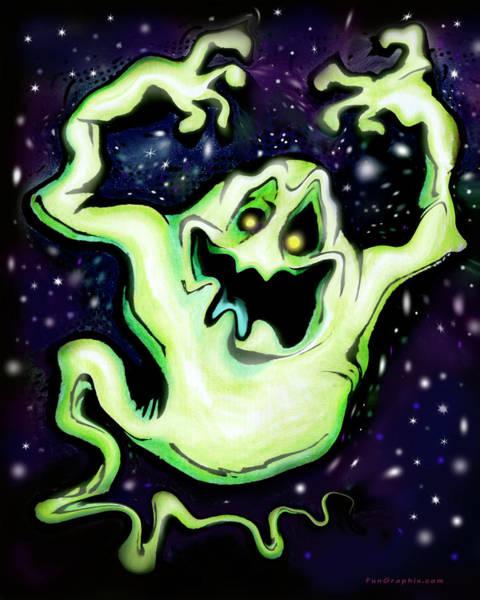 Digital Art - Ghost by Kevin Middleton