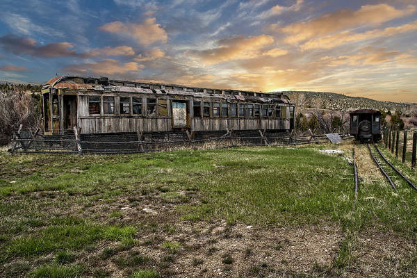 Photograph - Ghost Train by Scott Read