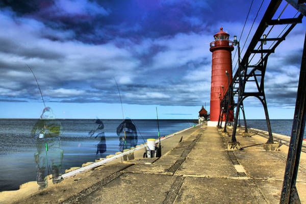 Wall Art - Photograph - Ghosts Of Grand Haven by Matthew Winn