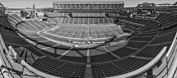 The Patriot Photograph - Gillette Stadium by Robert Hayton