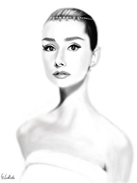 Girl No.203 Art Print by Yoshiyuki Uchida