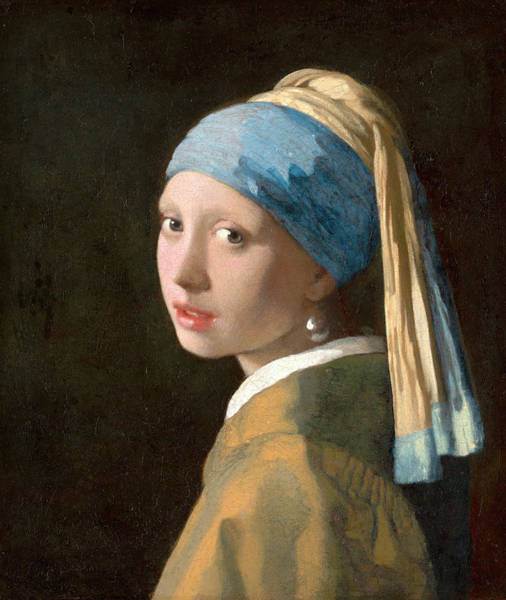 Wall Art - Painting - Girl With A Pearl Earring by Johannes Vermeer