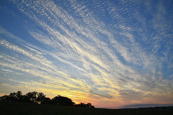 Photograph - Glacial Park Sunrise Clouds by Ray Mathis