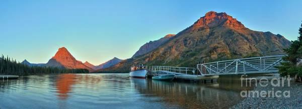 Photograph - Glacier Two Medicine Sunrise  by Adam Jewell