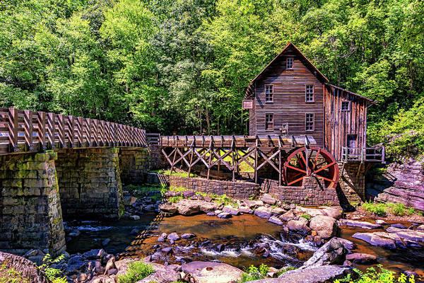 Wall Art - Photograph - Glade Creek Grist Mill 3 by Steve Harrington