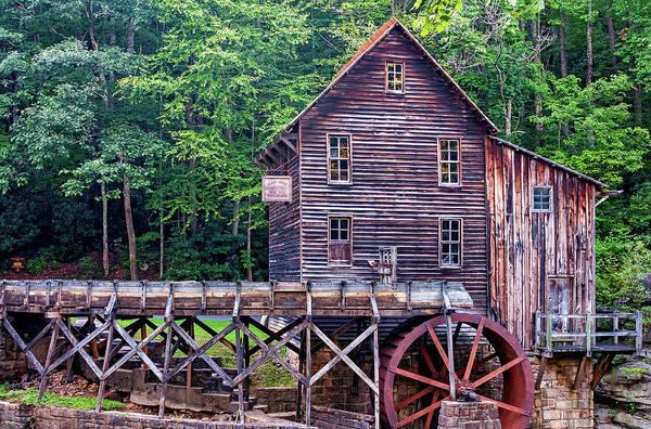 Wall Art - Photograph - Glade Creek Grist Mill 4 by Steve Harrington