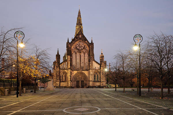 Church Of Scotland Wall Art - Photograph - Glasgow Cathedral by Grant Glendinning