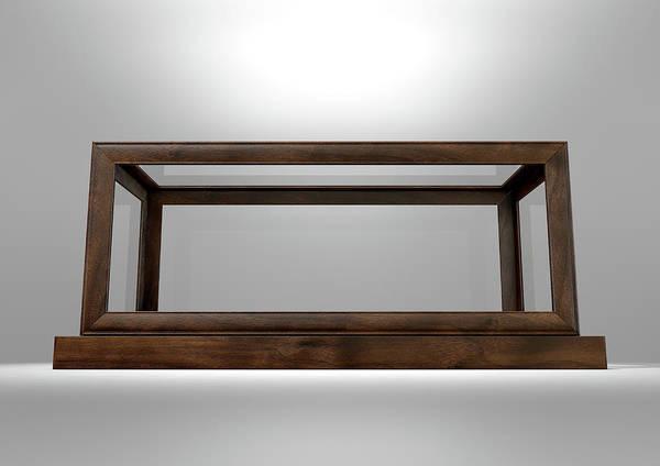 Show Business Wall Art - Digital Art - Glass Display Case Frame Horizontal by Allan Swart