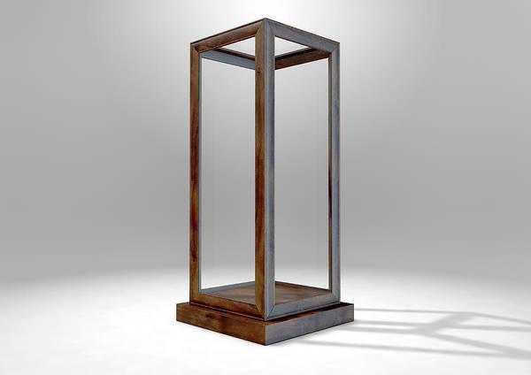 Show Business Wall Art - Digital Art - Glass Display Case Verticle by Allan Swart