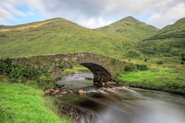 The Trossachs Wall Art - Photograph - Glen Kinglas - Scotland by Joana Kruse
