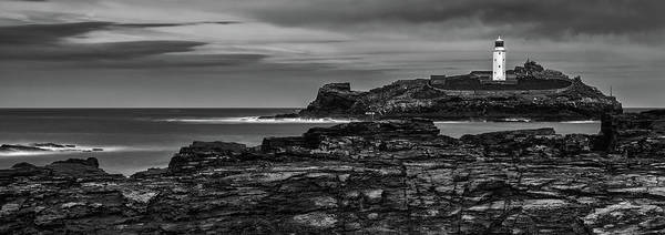 Wall Art - Photograph - Godrevy Lighthouse by Nigel Jones