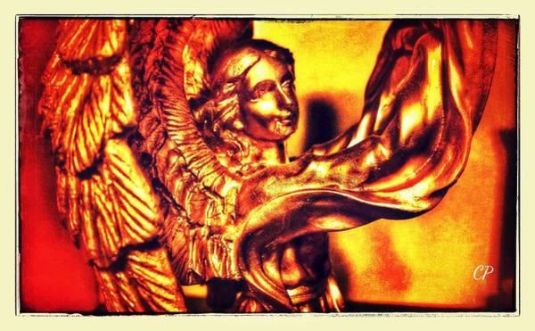 Photograph - Golden Angel by Christine Paris