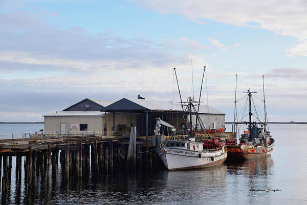 Wall Art - Photograph - Golden Dolphin Eel Fishing Boat Port Angeles Washington Painting by Barbara Snyder