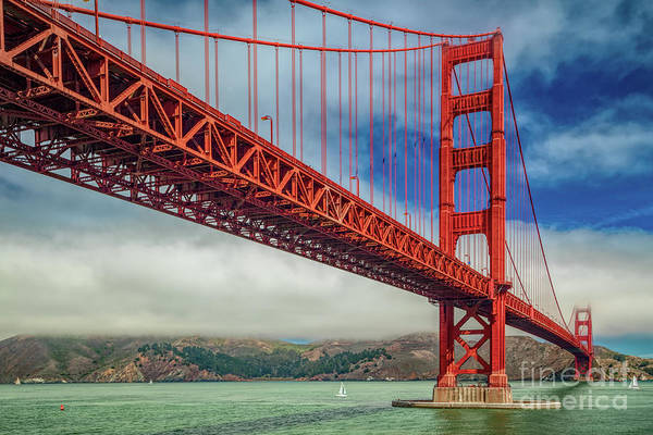 Wall Art - Photograph - Golden Gate Bridge by Martin Williams