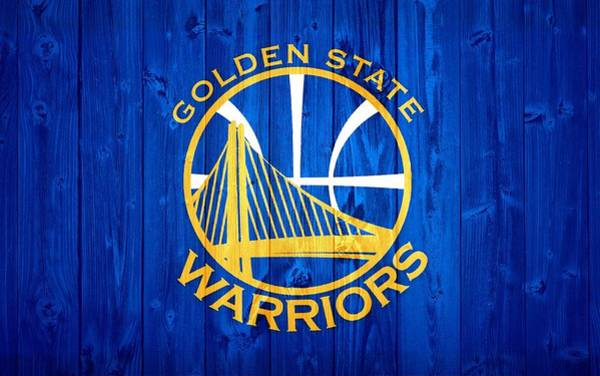 Golden Digital Art - Golden State Warriors Door by Dan Sproul