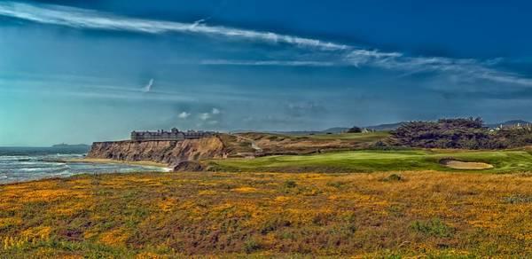 Half Moon Bay Photograph - Golfing On Half Moon Bay by Mountain Dreams