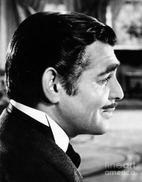 Moustache Photograph - Gone With The Wind, 1939 by Granger