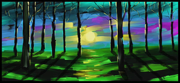Wall Art - Painting - Good Morning Sunshine  by Steven Lebron Langston