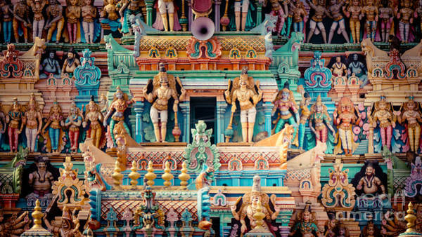 Photograph - Gopuram Thirupparamkunram Murugan Temple by Raimond Klavins