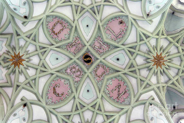 Wall Art - Photograph - Gothic Vault Of The Ceiling - View From Below by Michal Boubin