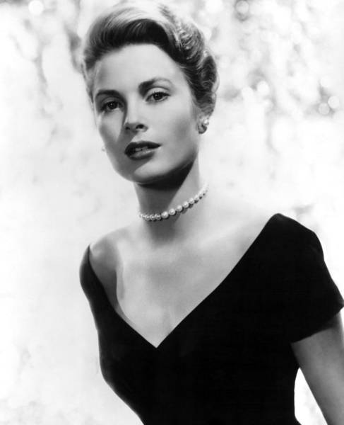 Entertainer Photograph - Grace Kelly by American School