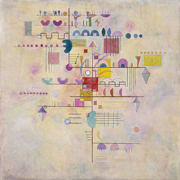 Endless Painting - Graceful Ascent by Wassily Kandinsky