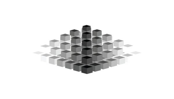 Gradient Digital Art - Gradient Pyramid by Pelo Blanco Photo