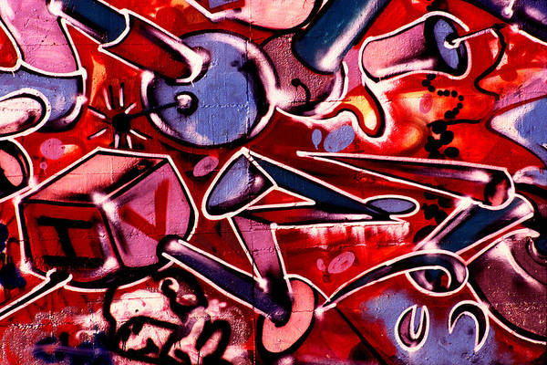 Photograph - Graffiti Art - 040 by Paul W Faust -  Impressions of Light