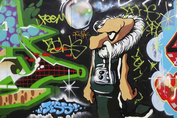 Wall Art - Photograph - Graffiti In London by Liz Pinchen