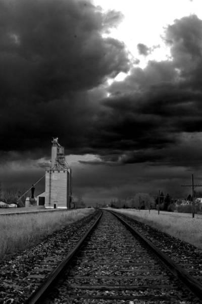 Photograph - Grain Train by David Matthews